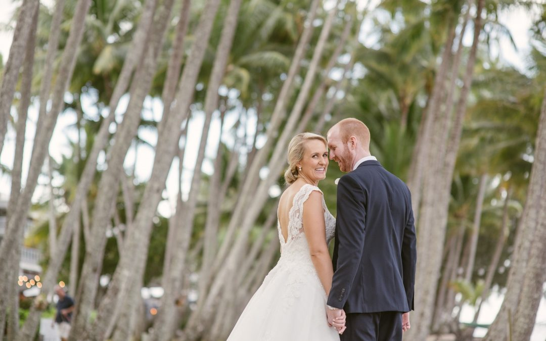 * James & Eliza's Palm Cove Wedding